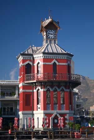 clocktower: Clocktower at the Waterfront in Cape Town