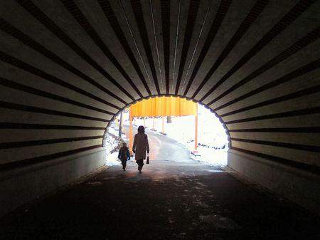 La lumi�re au bout du tunnel