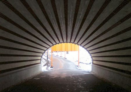 The Light in the end of the tunnel photo