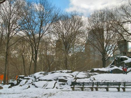 Winter in NYC Stock Photo - 351275