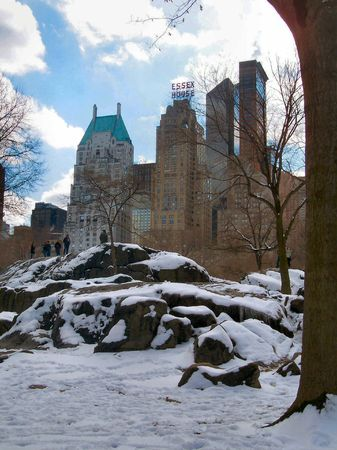 Winter in NYC Stock Photo - 351230