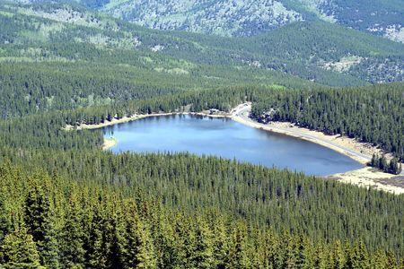 Mountain view in Colorado photo