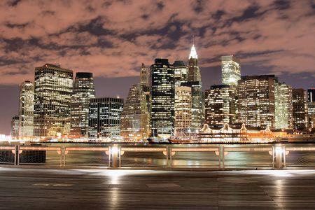 � Manhattan Night Lights