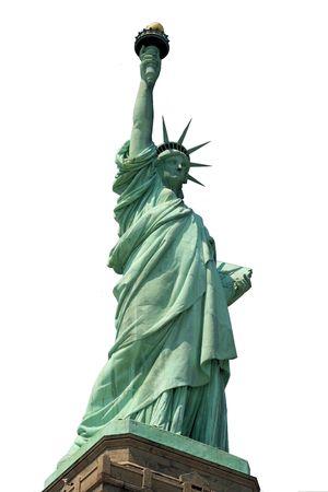 La statue de la Libert�  Banque d'images