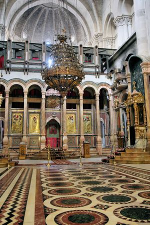 The Church of the Holy Sepulchre, Jerusalem Stock Photo