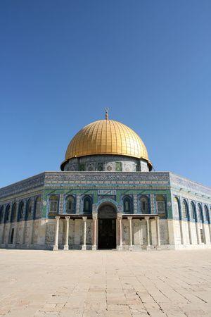 prayer tower: La Cupola della Roccia a Alba, Gerusalemme