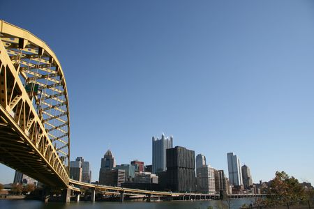 Pittsburgh's skyline Stock Photo - 3796848