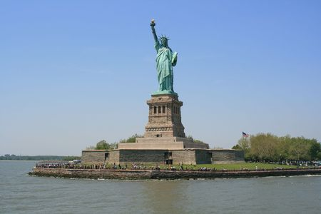 The Statue of Liberty Stock Photo - 4488528