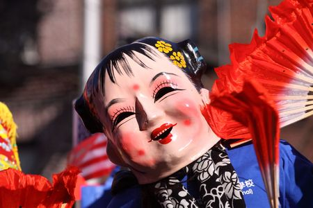 New York City - February 21: Chinese Lunar New Year Parade on February 21, 2010 in New York City
