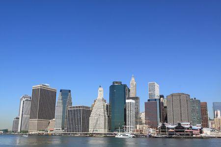 lower Manhattan Skyline, New York City