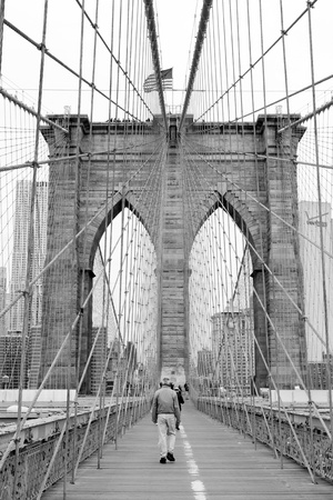 Brooklyn Bridge in New York City Stock Photo - 9475862