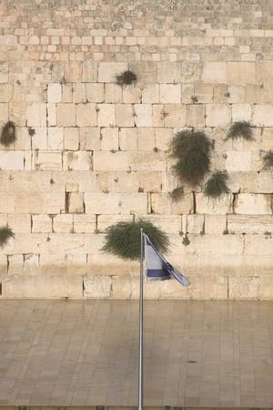 De Klaagmuur, Kotel, Jeruzalem Israël  Stockfoto
