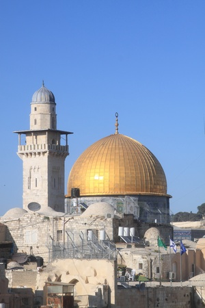 The Dome of the Rock , Al Aqsa, Jerusalem, Israel  Stock Photo - 10720133