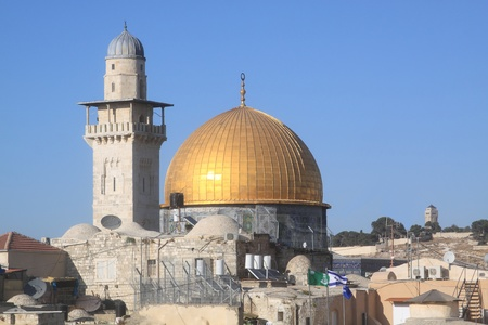 The Dome of the Rock , Al Aqsa, Jerusalem, Israel Stock Photo - 10720136