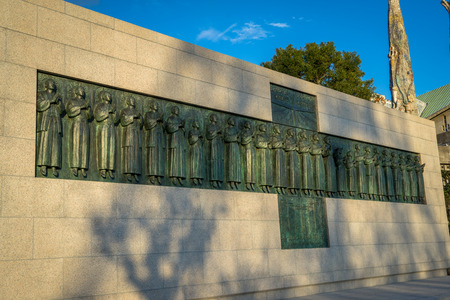 Twenty-Six Martyrs of Japan were executed by crucifixion on February 5, 1597 at Nishizaka Hill. Sajtókép