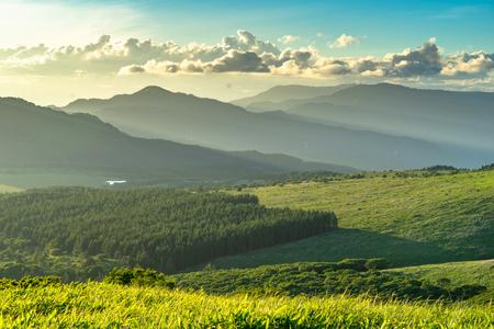 Golden hour at Kirigamine Highlands - Nagano Prefecture