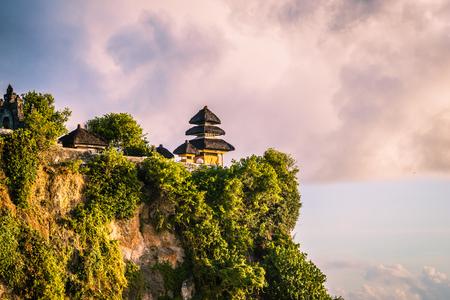 Uluwatu sits on the cliff edge - Bali, Indonesia