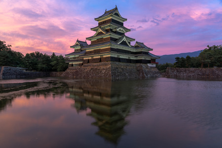 Matsumoto Castle, also known as the Crow Castle is a Japanese National Treasure. Matsumoto Castle is a flatland castle built in 1593, it is one of the few remaining original castles in Japan 報道画像