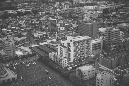 street life: Black and white, Japanese street
