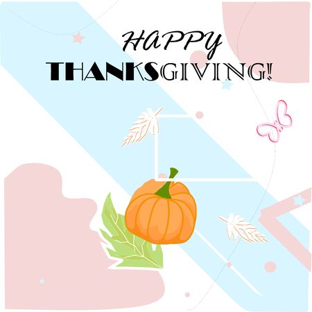 Happy Thanksgiving Card - Our wish you enjoy family and friends