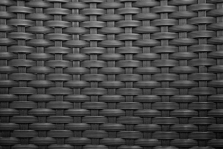 r furniture: basket texture in black and white color