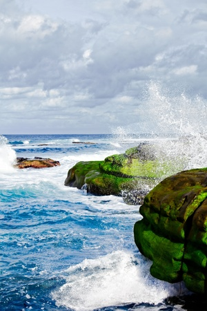 Wave Breaks On La Jolla California Stock Photo - 11550415