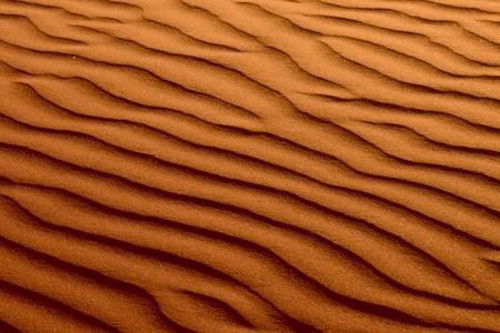 Ondulé Rouge Brun Sand Beach Dune texture de fond