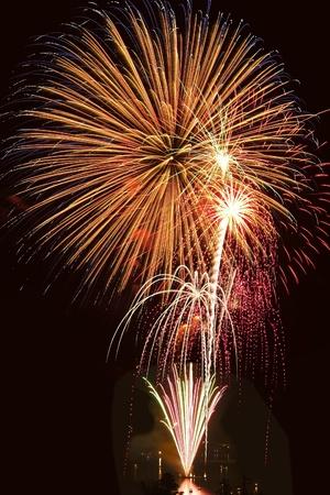 2012 Fireworks on Lake