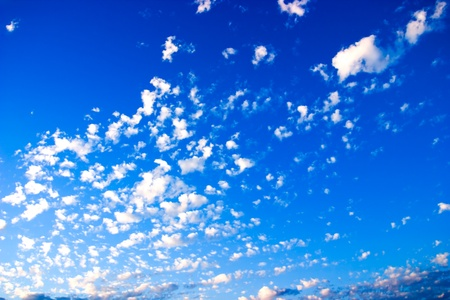 White Clouds ~ Blue Sky  photo
