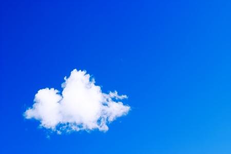 Blue Sky ~ Single White Cloud