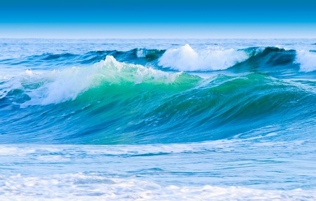 costal: Blue Sky And Costal Waves