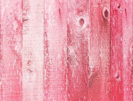 Valentines Day Distressed Vintage Grunge Texture Wood Backtround Painted In Pink Red White Archivio Fotografico