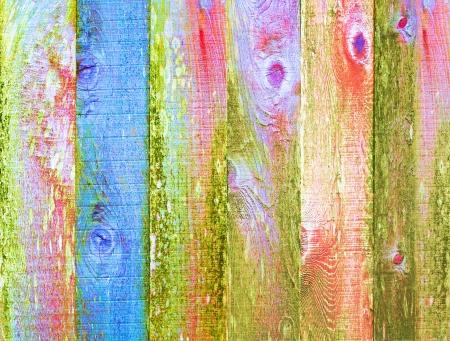 Distressed Vintage grunge legno texture di sfondo Art Design Element multicolore psichedelico pastello Pallet di colore Archivio Fotografico - 21962383