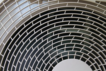 Close-up of an air conditioner Standard-Bild