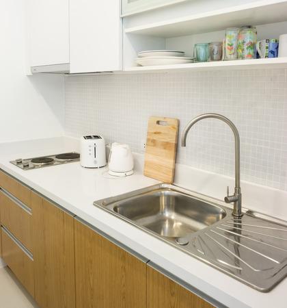 Small kitchen in the apartment , Interior design