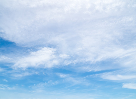 softly: softly clouds in the blue sky background Stock Photo