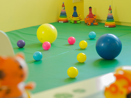 rubber ball: Colorfull rubber ball