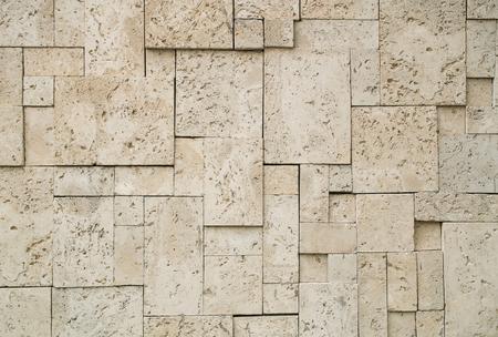 Concrete brick block wall background texture