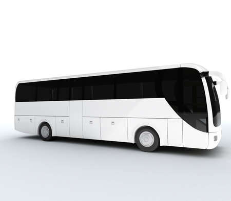 white bus for writte wath you like photo