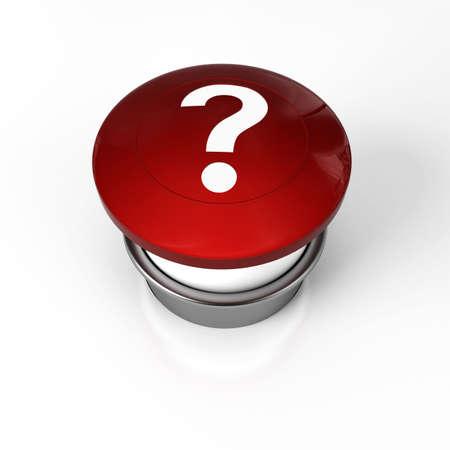 panic button: un pulsante di panico per aiuto o domanda Archivio Fotografico