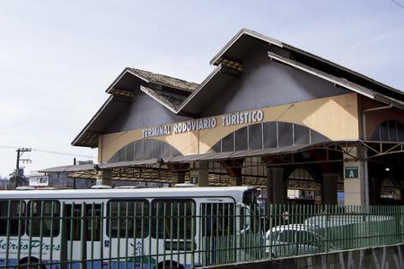 turistic: Train station and bus tour of the city of Ribeirão Preto Editorial