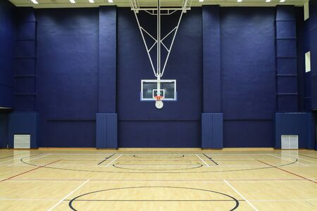Basketball court in the Gym