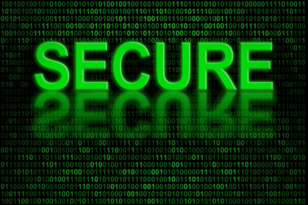 virus informatico: Indicador conceptual del código de software o dato digital que está seguro y no afectados por cualquier virus informático o programa malicioso