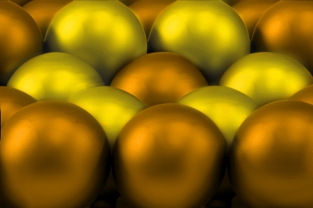 Metallic atoms organized into a lattice layer