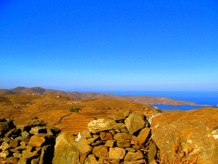 Kithnos from the top