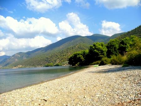 Evia landscape near the sea