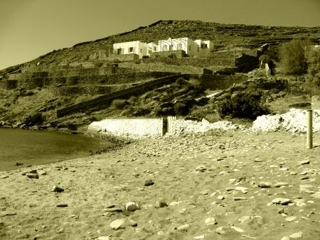 A house in an island