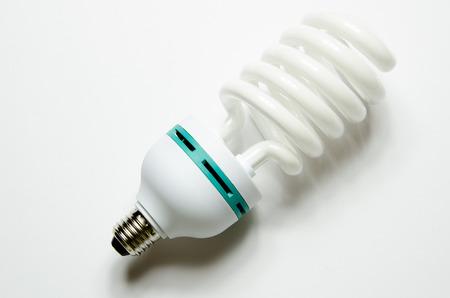 risparmio energetico: lampada a risparmio energetico Archivio Fotografico