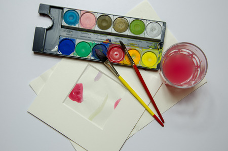 paintbox: water colors