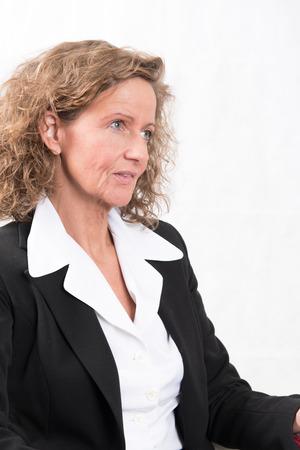 female boss: Chefin Lizenzfreie Bilder
